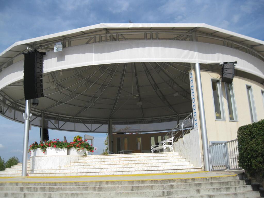 amfiteátr u kostela