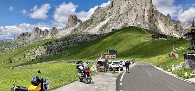 Evangmoto opět v Alpách – na cestách za Sluncem